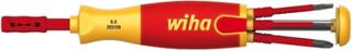 Wiha skrutrekker håndtak electric (VDE, 1000V), for uskiftbare klinger, inkl. 6 slimBit klinger (rett spor, Philips, Xeno/PZ)