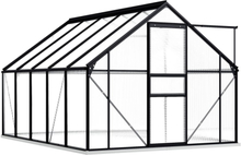 Drivhus med fundament 190x310 - 5,89 m²