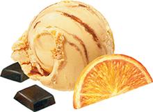 Apelsinchoklad gräddglass SIA Glass