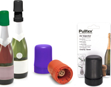 Silicone Sparkling Wine Stopper, mixade färger - P