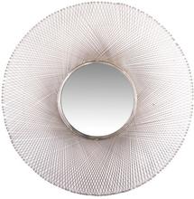 Diamonds spegel 114 cm - Nickel