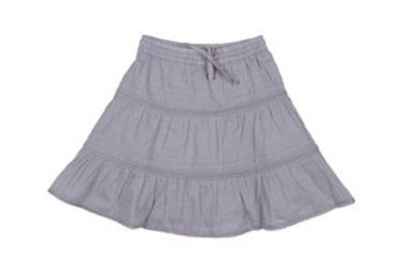 Nederdel soft grey - Fransa kids