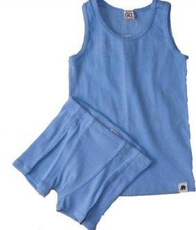 Undertøjssæt blå - Celavi