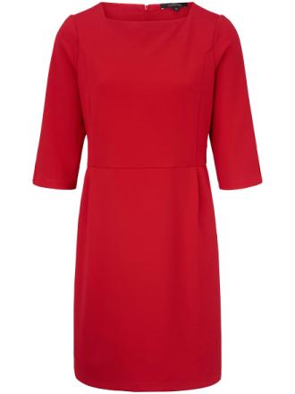 Jerseyklänning 3/4-ärm från comma, röd
