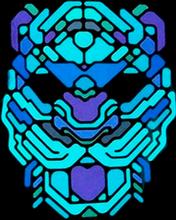 Mask Led Leopard