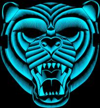Mask Led Tiger