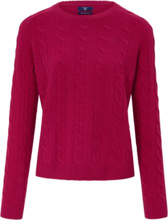 Rundhalsad tröja från GANT röd