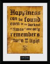 Harry Potter - Happiness - Inramad bild - flerfärgad