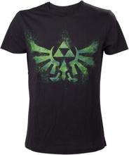 - Green Zelda logo t-shirt M - T-Shirt m