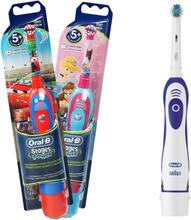 2 st braun oral-b eltandborstar för vuxna och barn cc4dc9d5cbbd2