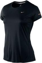 Nike Miler SS Crew Top Women Black S