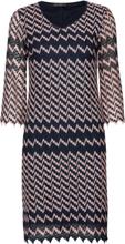 Dress Short 3/4 Sleeve Knelang Kjole Blå Betty Barclay