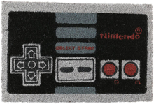Nintendo - NES Controller -Dørmatte - flerfarget