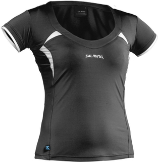 Salming Squash Top Black/White S
