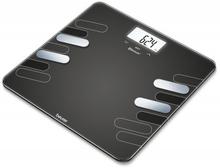 Beurer BF600 Style Diagnostic Bathroom Scale Black 1 stk