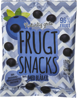 Trope Frugt Snacks Med Blåbær 120 g
