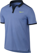 Nike Roger Federer Polo Blue/Yellow Size S S