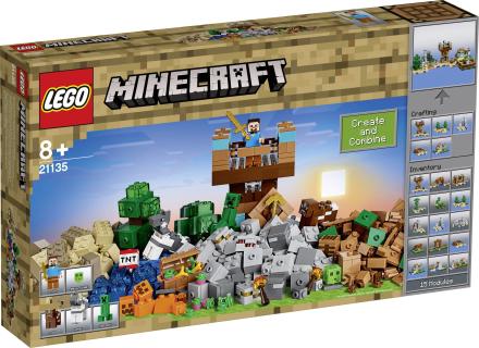 LEGO® MINECRAFT 21135 LEGO dele 717 - Conrad