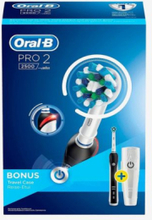 Oral-B Pro 2 2500 CrossAction. 10 stk. på lager