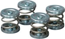 Vibrationsdämpare, rostfria stålfjädrar