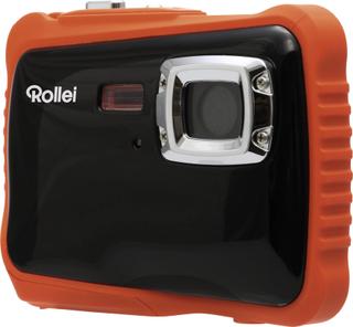 Rollei Sportsline 65 Digitalkamera 8 MPix Sort/orange Full HD-video, Stødsikker, Undervandskamera