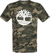 Timberland - Kennebec River AOP Camo Tee -T-skjorte - kamuflasje