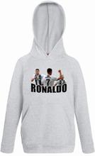 Ronaldo barn hoodie sweatshirt t-shirt - juventus spelare design