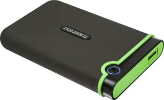 Transcend StoreJet® 25M3S Slim -15 % Ekstern harddisk 6,35 cm (2,5) 500 GB Jerngrå USB 3.0