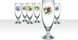Kosta Boda Friendship Ölglas 6-pack
