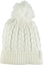 Everest J Knit Cabel Beanie Lasketteluvaatteet WHITE
