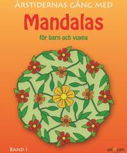 Målarbok Mandalas årstiderna 1