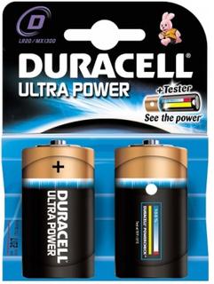Duracell Ultra Power MX1300 2 stk