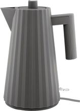 Alessi MDL06 Plissé vattenkokare 1,7 liter, grå