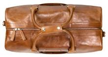 Aalborg Weekender Bag, Dark tan
