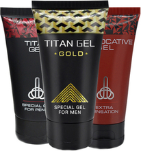 Titan Gel+Gold+Provocative - spara 12%