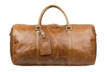 Kastrup 2 Weekender Bag, Dark Tan