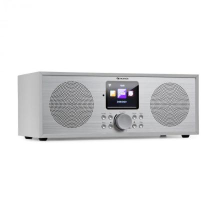 Silver Star Stereo Internet DAB+/FM radio, WiFi, BT, DAB+/FM, vit