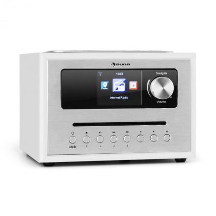 Silver Star CD Cube radio Bluetooth HCC display vit