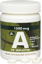 DFI Vitamin-A 1500 mcg 90 stk