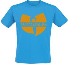 Wu-Tang Clan - Text Logo -T-skjorte - blå