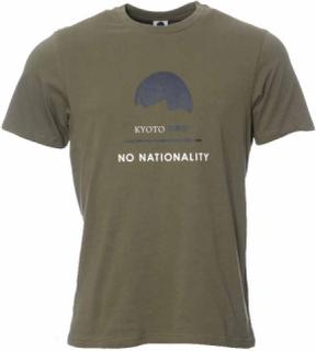NN07 Mauro Print Tee 3357 Army T-shirt