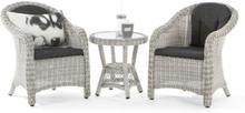 DEMO-Lyngholm rotting barnesett med stoler og bord