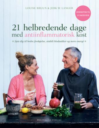 21 helbredende dage med antiinflammatorisk kost - E-bog