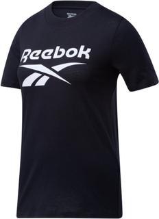Reebok Women's Reebok Identity BL Tee Dam T-shirt Svart L