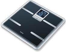 Beurer BG40 Glass Diagnostic Bathroom Scale Black 1 stk