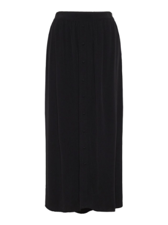 VERO MODA Long Skirt Women Black