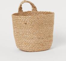 H & M - Håndlaget veggkurv - Beige