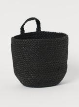 H & M - Håndlaget veggkurv - Sort