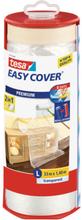 Tesa Easy Cover 4368 Skyddsfolie med maskeringstejp 33 m x 1400 mm, dispenser