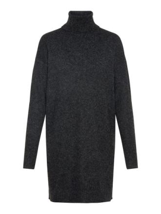 VERO MODA Rollneck Knitted Dress Women Black